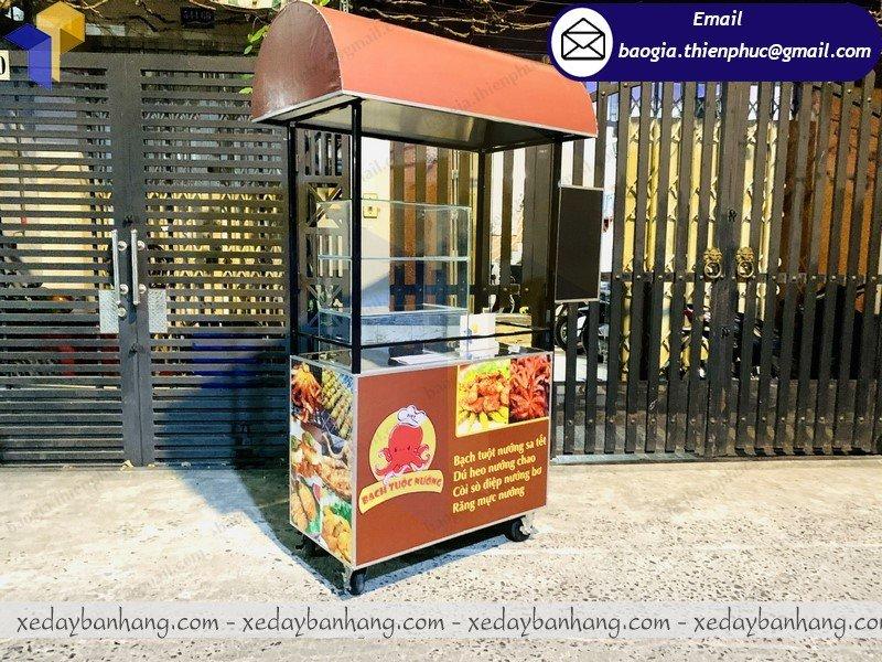 nơi bán xe sắt bán đồ ăn vặt