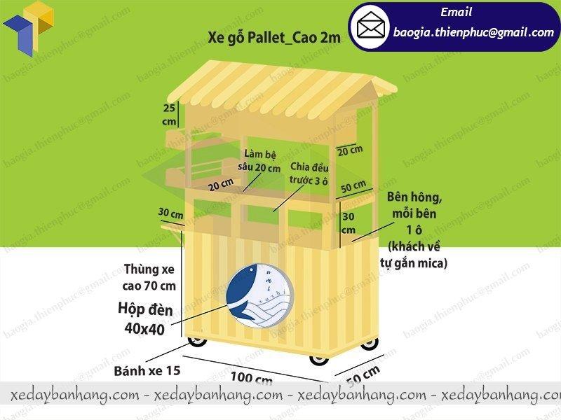 quầy gỗ bán sushi giá rẻ