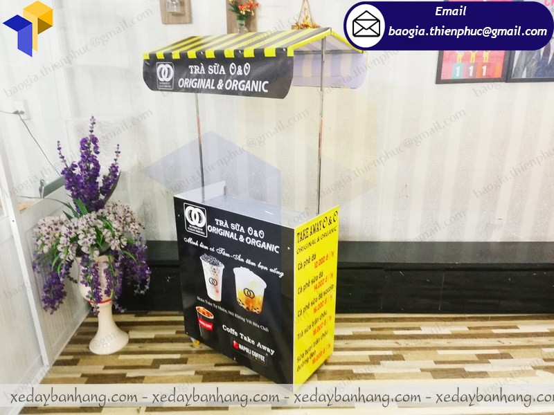 tủ bán trà sữa lắp ráp tây ninh