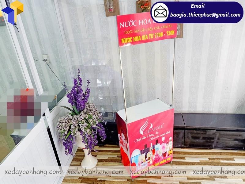 booth quảng cáo mỹ phẩm ở hcm