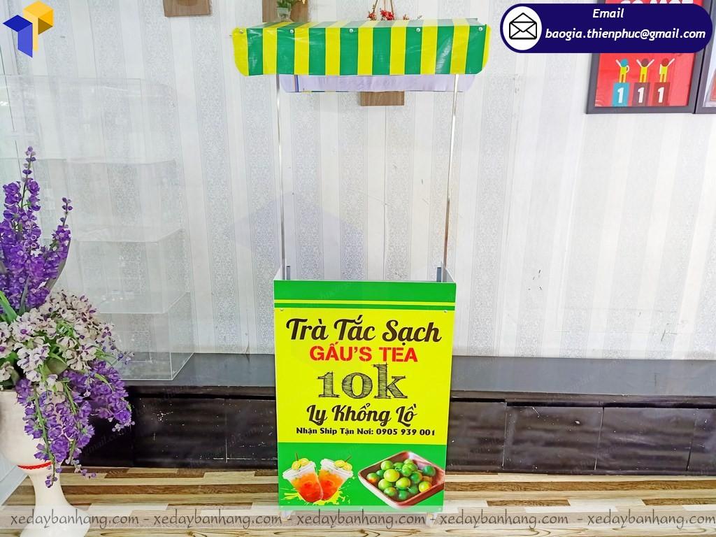Thiết kế booth lắp ráp trưng bày quảng cáo ở hcm