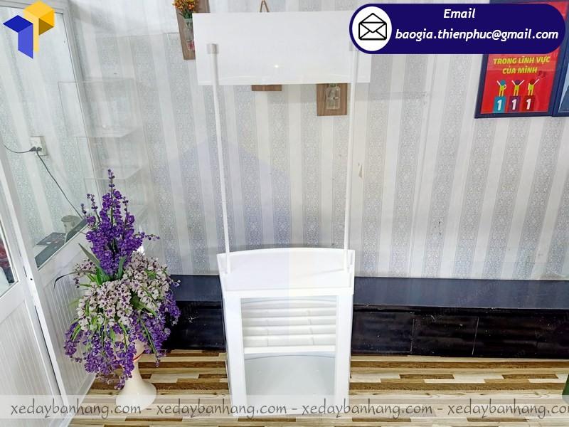booth nhựa bán hàng lắp ráp kiên giang