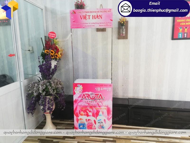 Booth quảng cáo sản phẩm tại tphcm