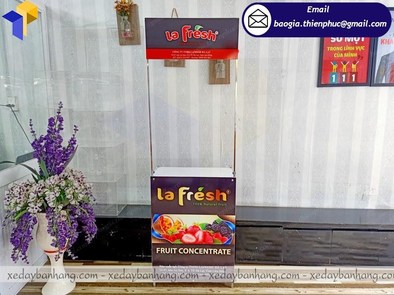 quầy kệ siêu thị giá rẻ ở phú quốc