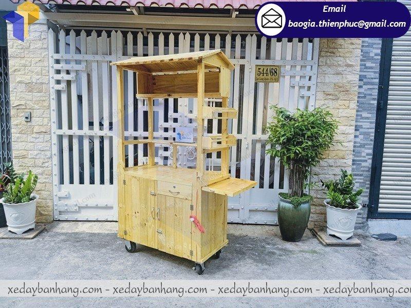 sản xuất quầy gỗ bán sushi giá rẻ