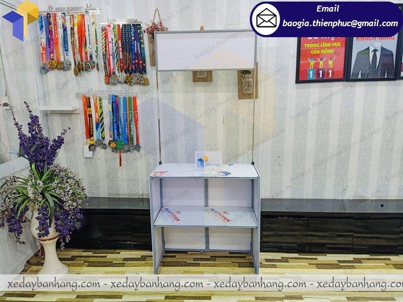 thiết kế  booth lắp ráp bán hàng