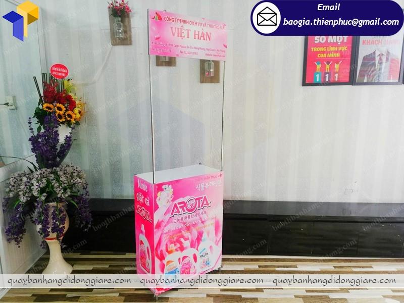 Booth quảng cáo sản phẩm phú quốc