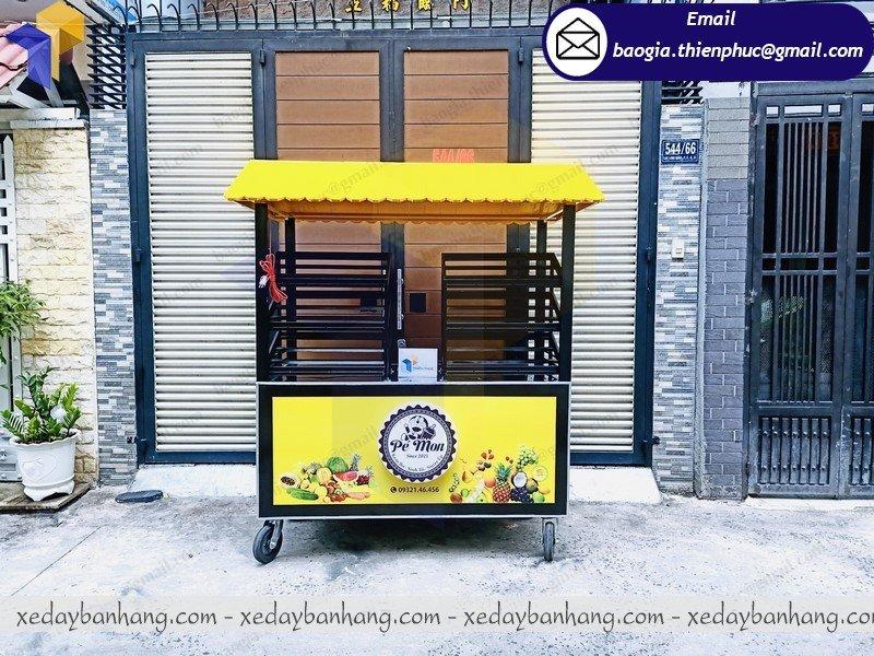 thiết kế tủ bán trái cây ướp lạnh giá rẻ