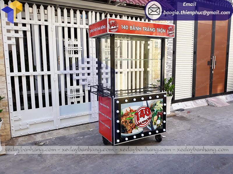 xe bán thức ăn nhanh lưu động