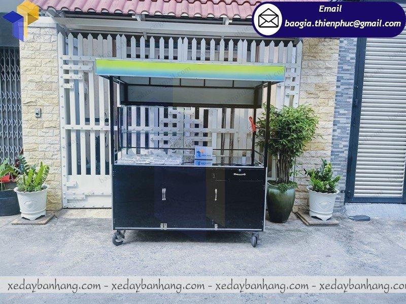 thiết kế xe sắt bán cafe bền đẹp