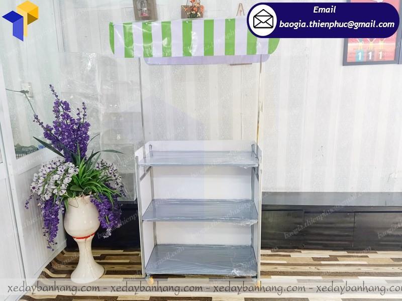 thiết kế booth lắp ráp bán nước cam giá rẻ  ở Gia Lai