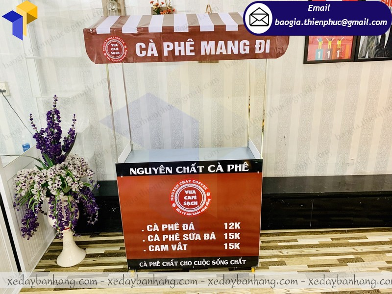 Xe bán cafe mang đi take away giá rẻ  ở hcm