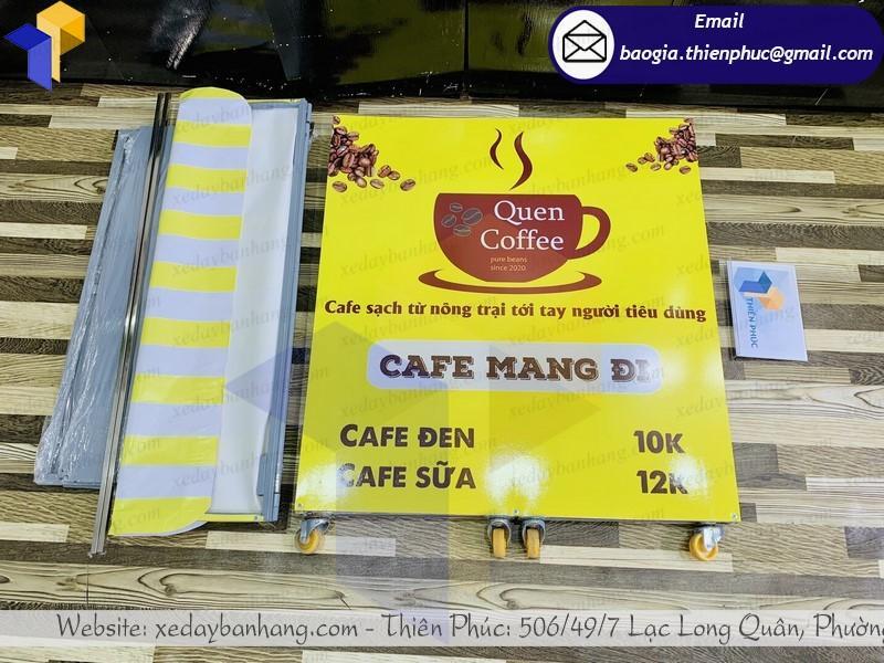 xe lắp ráp bán café di động giá rẻ