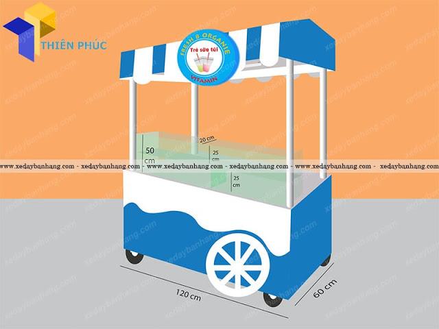 Xe bán nước ép sinh tố bền đẹp tại HCM