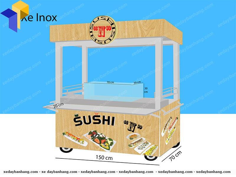 Xe bán sushi lưu động đẹp giá rẻ