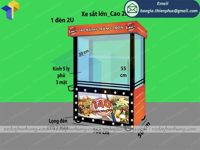 Xe bán thức ăn nhanh lưu động giá rẻ