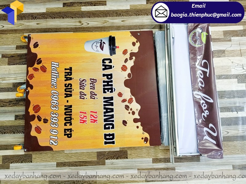 quầy lắp ráp cafe mang đi giá rẻ ở phú quốc