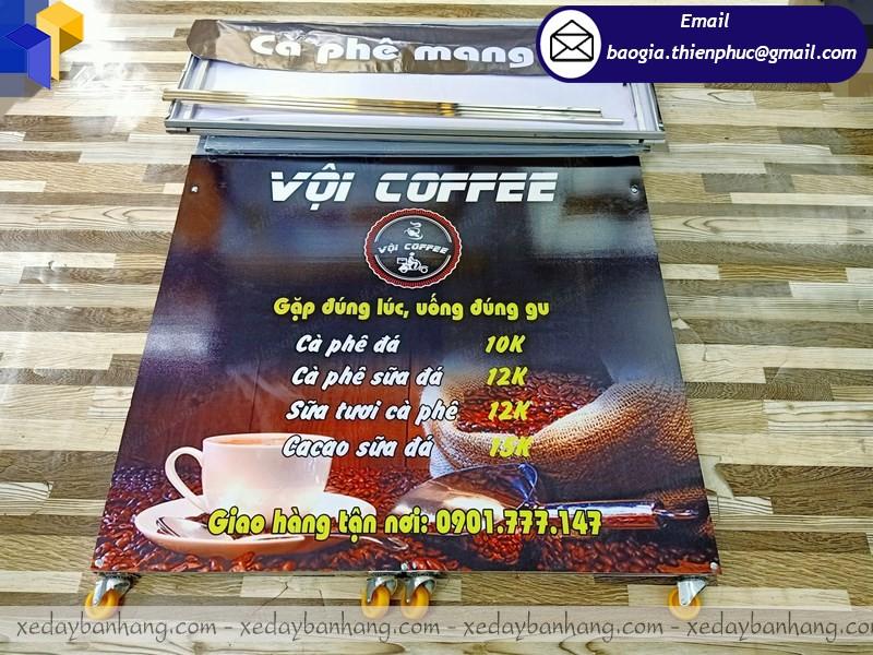 Quầy cafe take away bán cà phê lắp ráp ở cần thơ