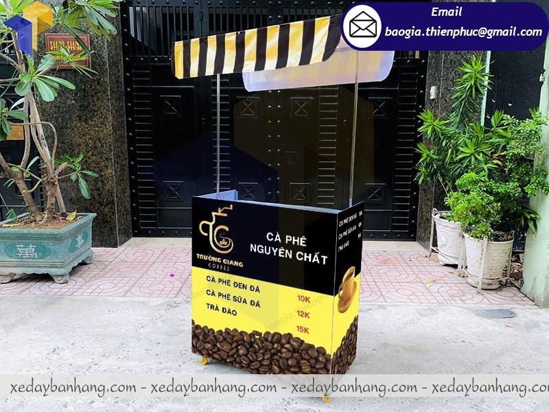 xe lắp ráp bán cafe đen nguyên chất