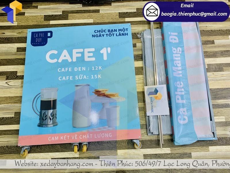 bàn sampling bán café tháo lắp gấp gọn ở phú quốc
