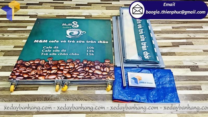 xe lắp ráp bán cà phê mang đi giá rẻ