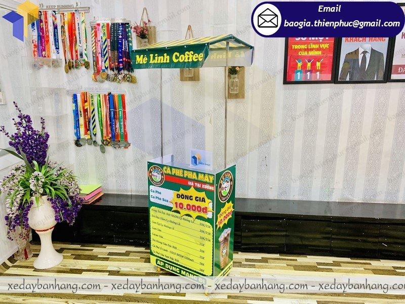 xe lắp ráp bán cafe sữa đá giá rẻ