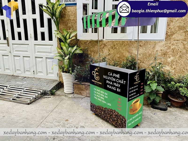 xe lắp ráp bán cafe trà đào giá rẻ