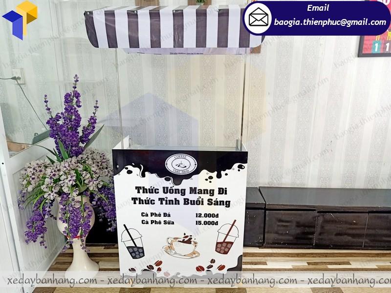 booth lắp ráp cafe take away giá rẻ ở hcm