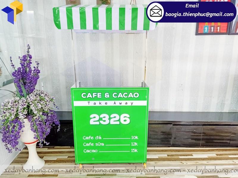 xe bán cafe take away lắp ráp hcm