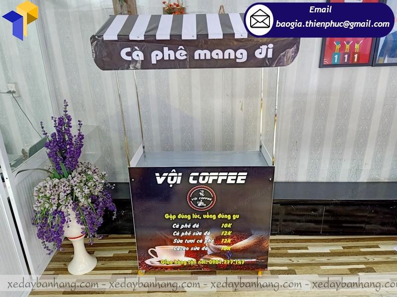 Quầy cafe take away bán cà phê lắp ráp hcm
