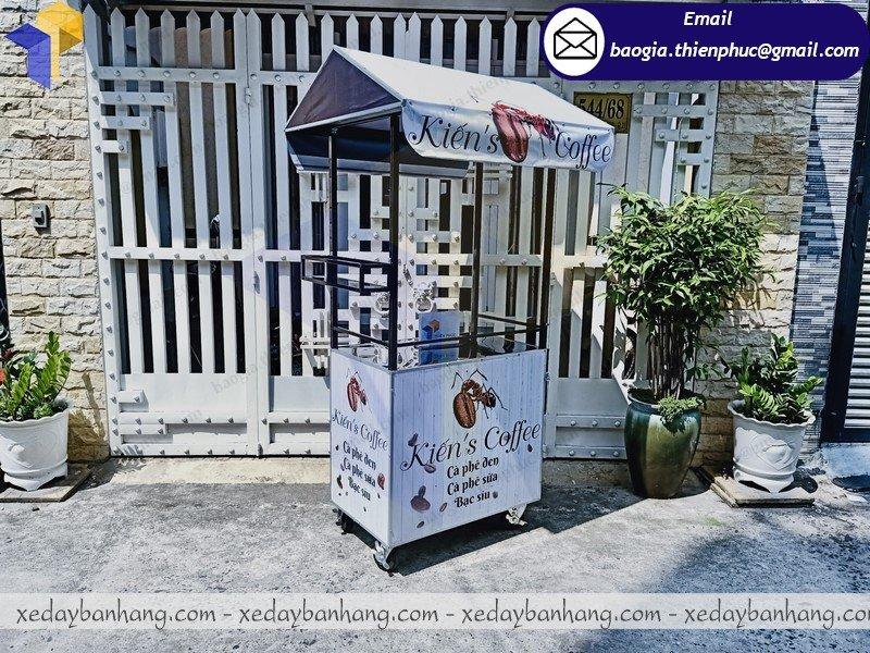 xe sắt bán cafe mang đi giá rẻ