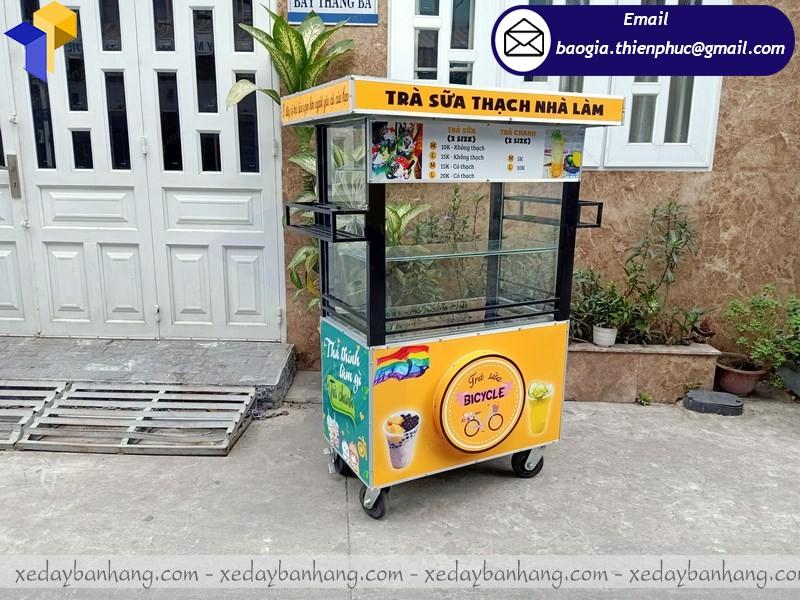 xe bán trà sữa hàng rong theo yêu cầu quận 11