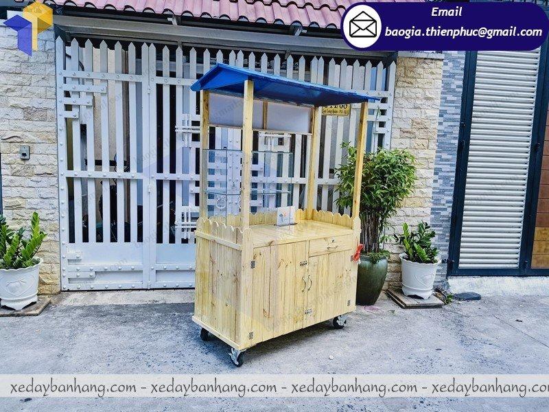 xưởng đóng tủ gỗ pallet bán cafe