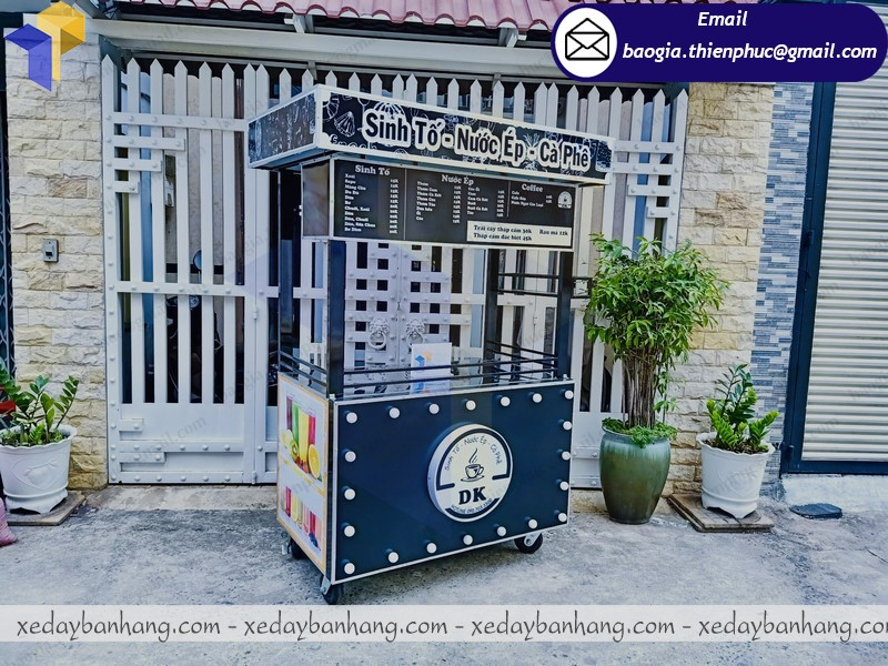xưởng đóng xe sắt bán sinh tố giá rẻ